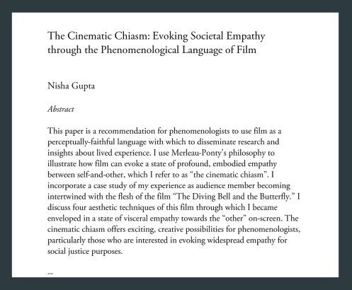 cinematic chiasm